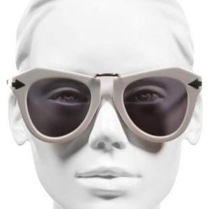 2d6704e230 New Karen Walker Grey One Orbit Sunglasses